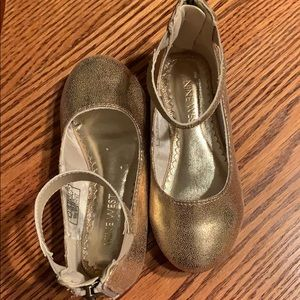 Nine West, little girls, ankle strap shoes